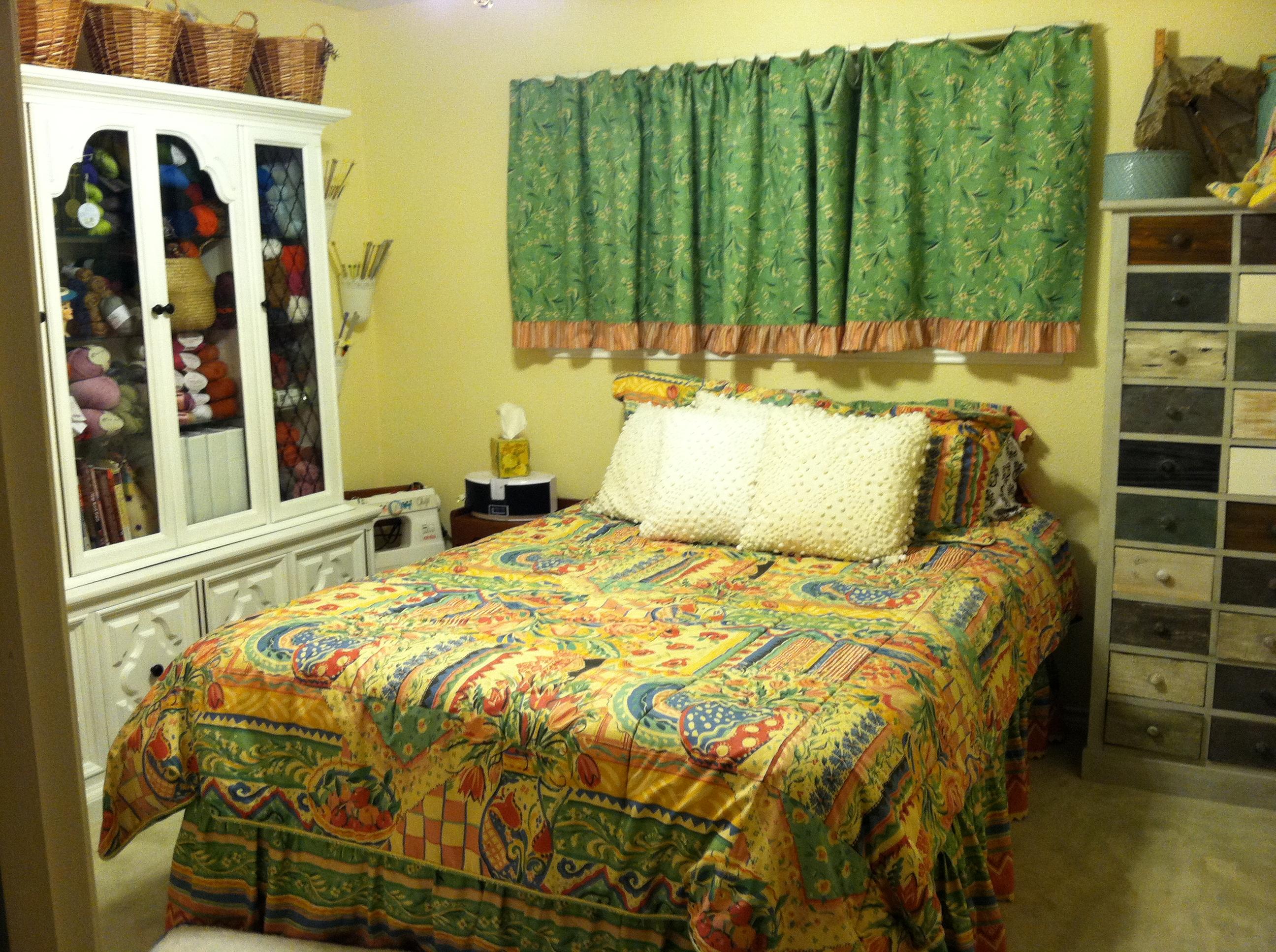 Tags: Cabinet, Craft Room, Crafts, Knitting Room, Yarn Stash